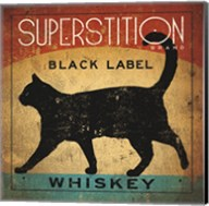 Superstition Black Label Whiskey Cat Fine-Art Print