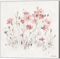 Wildflowers II Pink Fine-Art Print