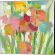 Longstem Bouquet II Square II Fine-Art Print