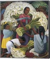 The Flower Vendor Fine-Art Print