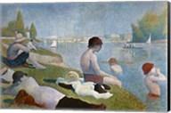 Bathing at Asnieres Fine-Art Print