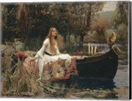 The Lady of Shallot Fine-Art Print
