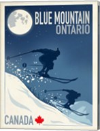 Blue Mountain 1 Fine-Art Print