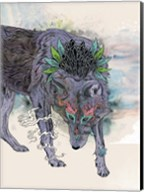 Journeying Spirit (Wolf) Fine-Art Print