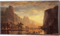 Valley of the Yosemite Fine-Art Print