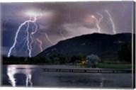 Lightning Campground Fine-Art Print