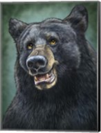 Black Bear Totem Fine-Art Print
