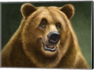 Grizzly Totem Fine-Art Print
