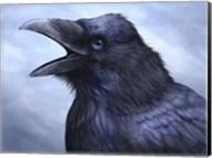 Raven Totem Fine-Art Print