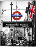 Westminster Station Underground Fine-Art Print