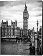 The Palace of Westminster and Big Ben - London Fine-Art Print
