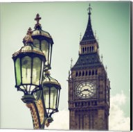 Big Ben and the Royal Lamppost UK Fine-Art Print