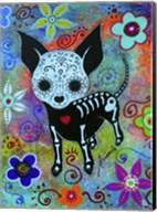 Chihuahua Dog Black Face Al Fine-Art Print