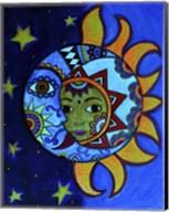 La Luna El Sol Estrellado Fine-Art Print