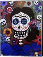 Lady Frida In Blue Fine-Art Print