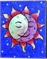 Midnight Sun And Moon Fine-Art Print