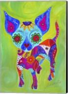 Talavera Happy Chihuahua Fine-Art Print