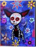 Chihuahua Dia De Los Muertos Fine-Art Print
