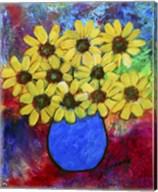 Abstract Florals Fine-Art Print