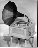 1950s Vintage Gramophone Converted To Furniture Fine-Art Print