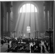 1930s 1940s Interior Pennsylvania Station New York City? Fine-Art Print