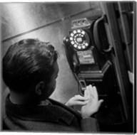 1940s 1950s Man Counting Change Fine-Art Print