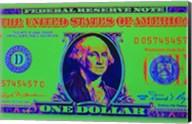 Close-Up Detail American Dollar Bil Fine-Art Print