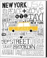 Iconic NYC III Fine-Art Print