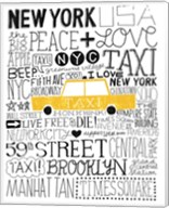 Iconic NYC III Fine-Art Print
