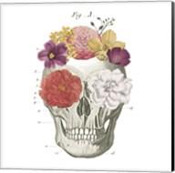 Floral Skull I Fine-Art Print