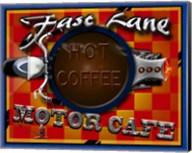 Fast Lane Motor Cafe Fine-Art Print