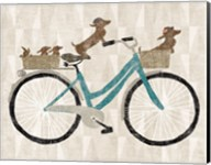 Doxie Ride ver II Fine-Art Print