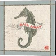 Drift Away Seahorse Fine-Art Print