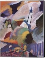 Kirche in Murnau, 1910 Fine-Art Print