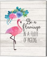 Be a Flamingo Fine-Art Print