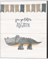 Later Alligator Fine-Art Print