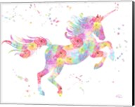 Unicorn White Fine-Art Print