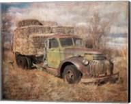 Vintage Hay Truck Fine-Art Print