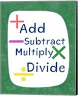 Math Map Fine-Art Print