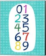 Math Numbers Fine-Art Print
