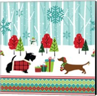 Winter Pet Scene Fine-Art Print