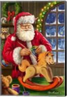 Santa's Magic Touch Fine-Art Print