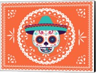 Calavera Orange Fine-Art Print