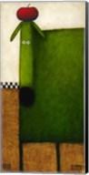 Green Dog II Fine-Art Print