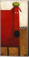 Red Dog II Fine-Art Print