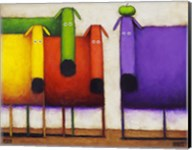Rainbow Dogs II Fine-Art Print