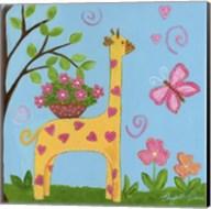 Girlie Giraffe Fine-Art Print