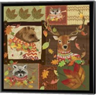 Fall Critters Collage Fine-Art Print