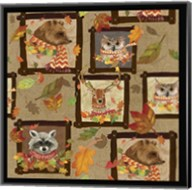 Fall Critters Collage 2 Fine-Art Print