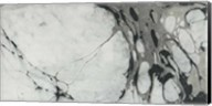 Black and White Marble Panel Trio I Fine-Art Print